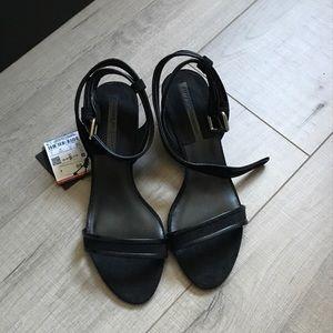 NWT Zara block heels